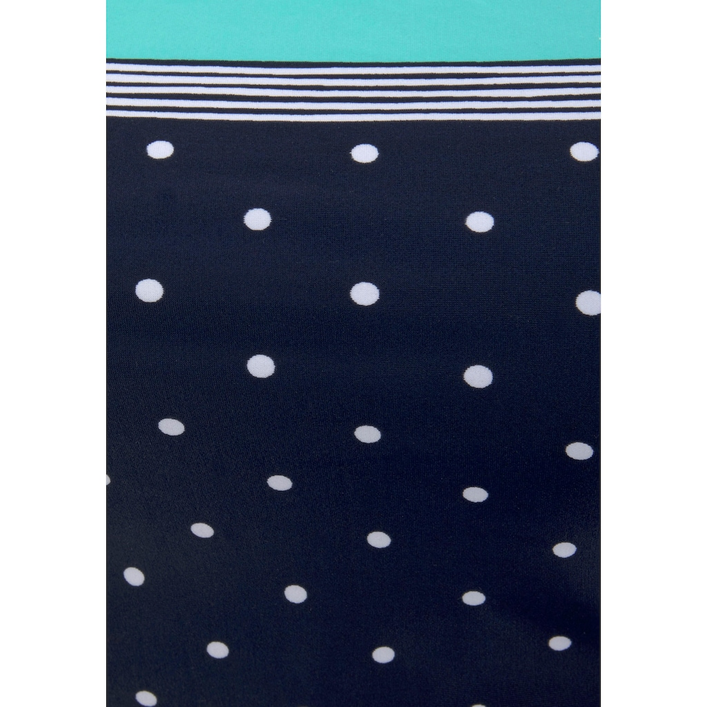 LASCANA Badeanzug »Monroe«, mit kleinen Pünktchen