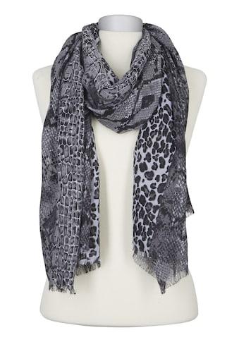 Schal in angesagtem Animalprint kaufen
