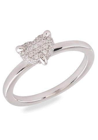 VILMAS Silberring »Pave Heart, 4028146652101, 095, 2088«, mit Zirkonia kaufen