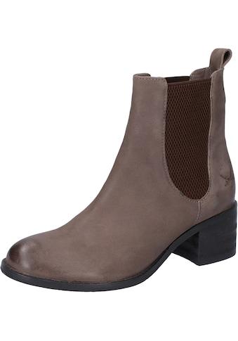 Sansibar Stiefelette »Leder/Textil« kaufen
