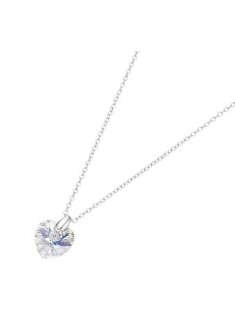 Smart Jewel Herzkette »mit Kristall Stein in Herzform« kaufen