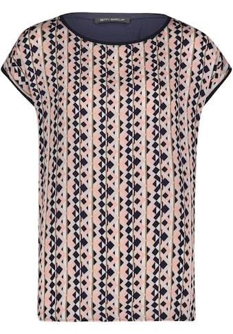 Betty Barclay Rundhalsshirt, mit trendigen Print kaufen