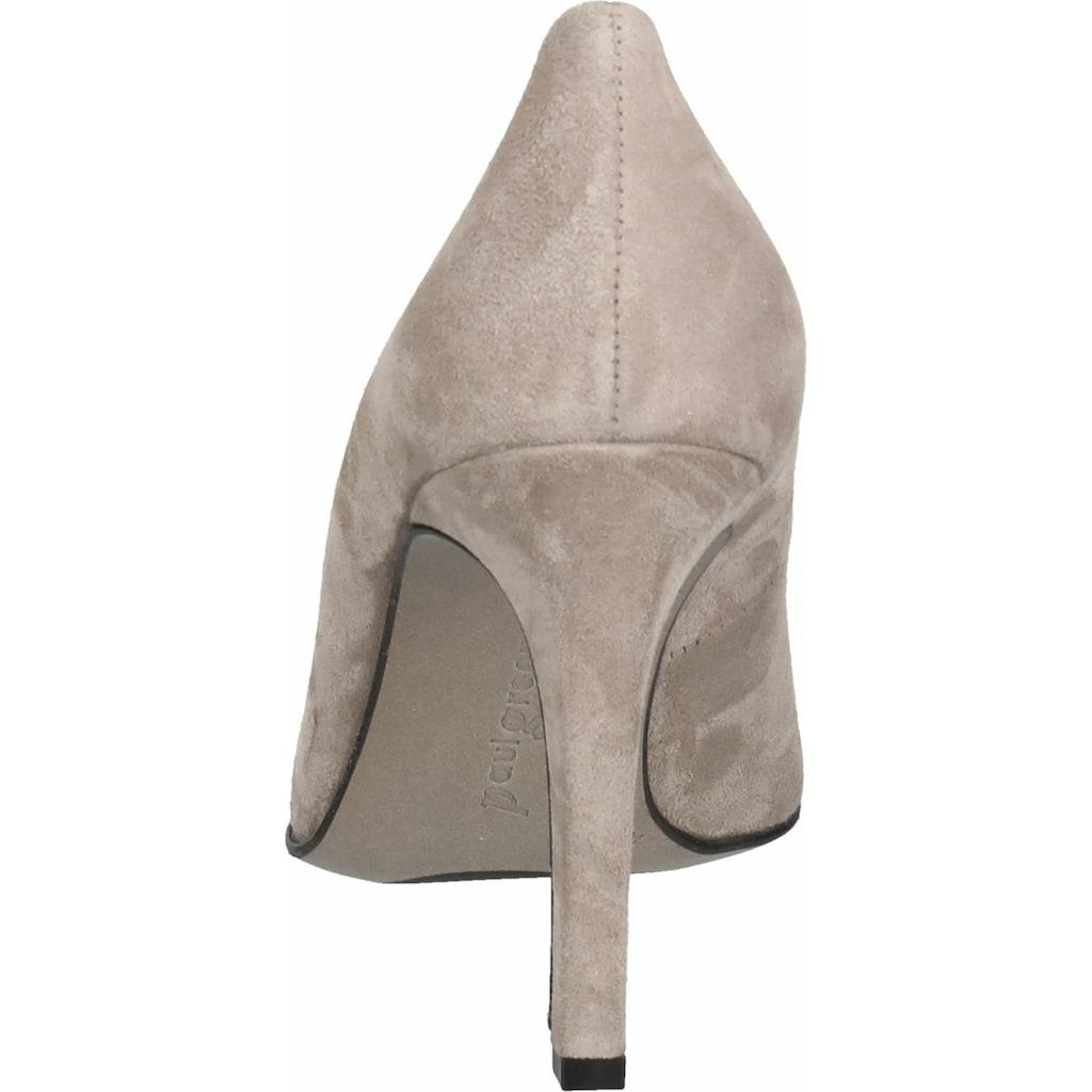 Paul Green High-Heel-Pumps »Veloursleder«