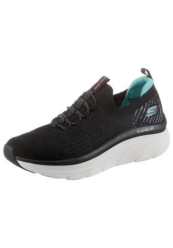 Skechers Slip-On Sneaker »D'LUX WALKER STAR STUNNER«, in veganer Verarbeitung kaufen