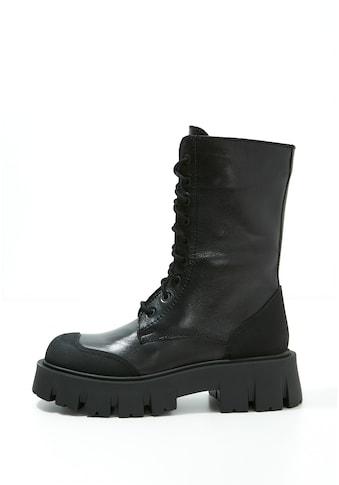 INUOVO Schnürstiefel »Leder« kaufen