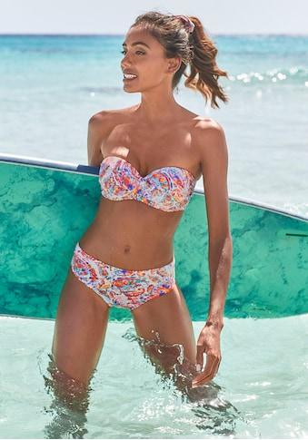 Venice Beach Bügel-Bandeau-Bikini, mit höherer Hose kaufen