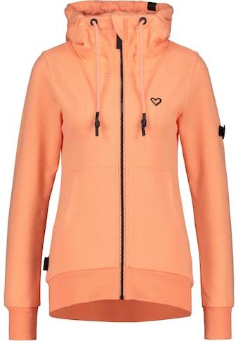 Alife & Kickin Sweatshirt »YasminAK A«, Sweatjacke in dezenten Uni-Farben mit Kapuze kaufen