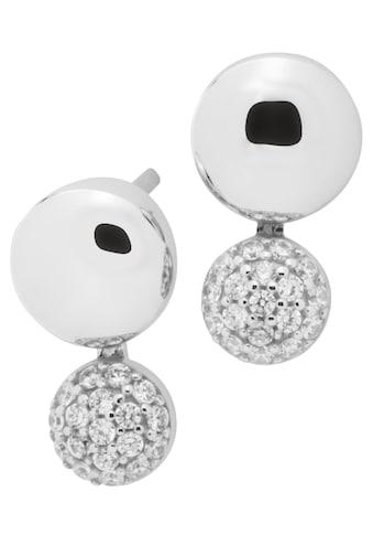 NANA KAY Paar Ohrstecker »Shiny Bubbles, ST1578«, mit Zirkonia kaufen