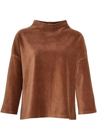 OPUS Sweatshirt »Gheorge«, aus feinem Cord kaufen