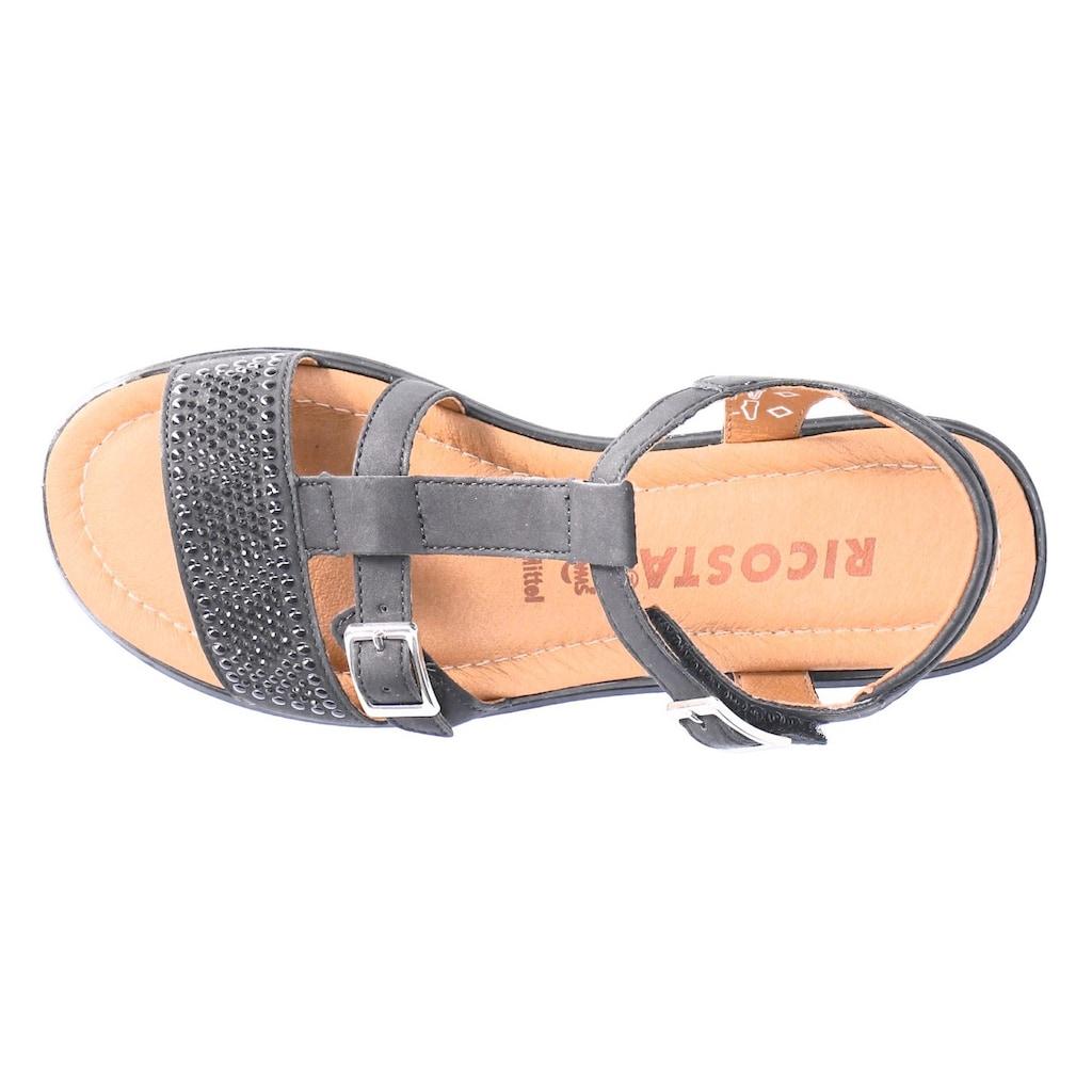 Ricosta Sandale »BELLA«, mit glänzenden Steinchen