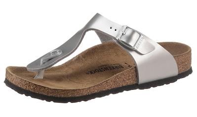Birkenstock Zehentrenner »Gizeh Inspired Electric Metallic«, in Schuhweite: schmal kaufen