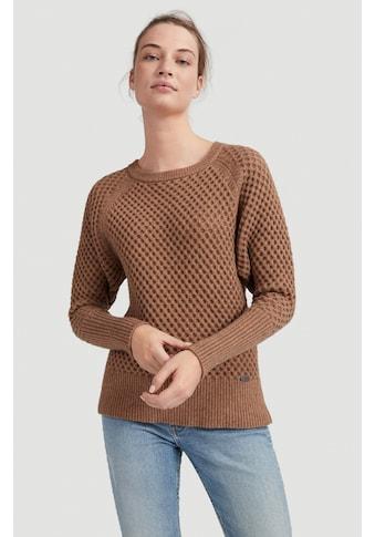 "O'Neill Strickpullover »""Honeycomb Knit""« kaufen"