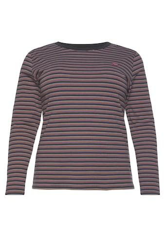 Levi's® Plus Langarmshirt »Baby Rib Tee« kaufen