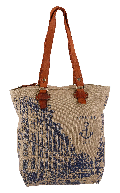 harbour 2nd -  Shopper Annen, mit Lederhenkel