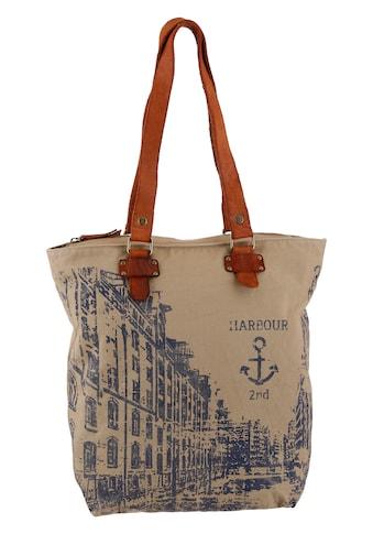 HARBOUR 2nd Shopper »Annen«, mit Lederhenkel kaufen