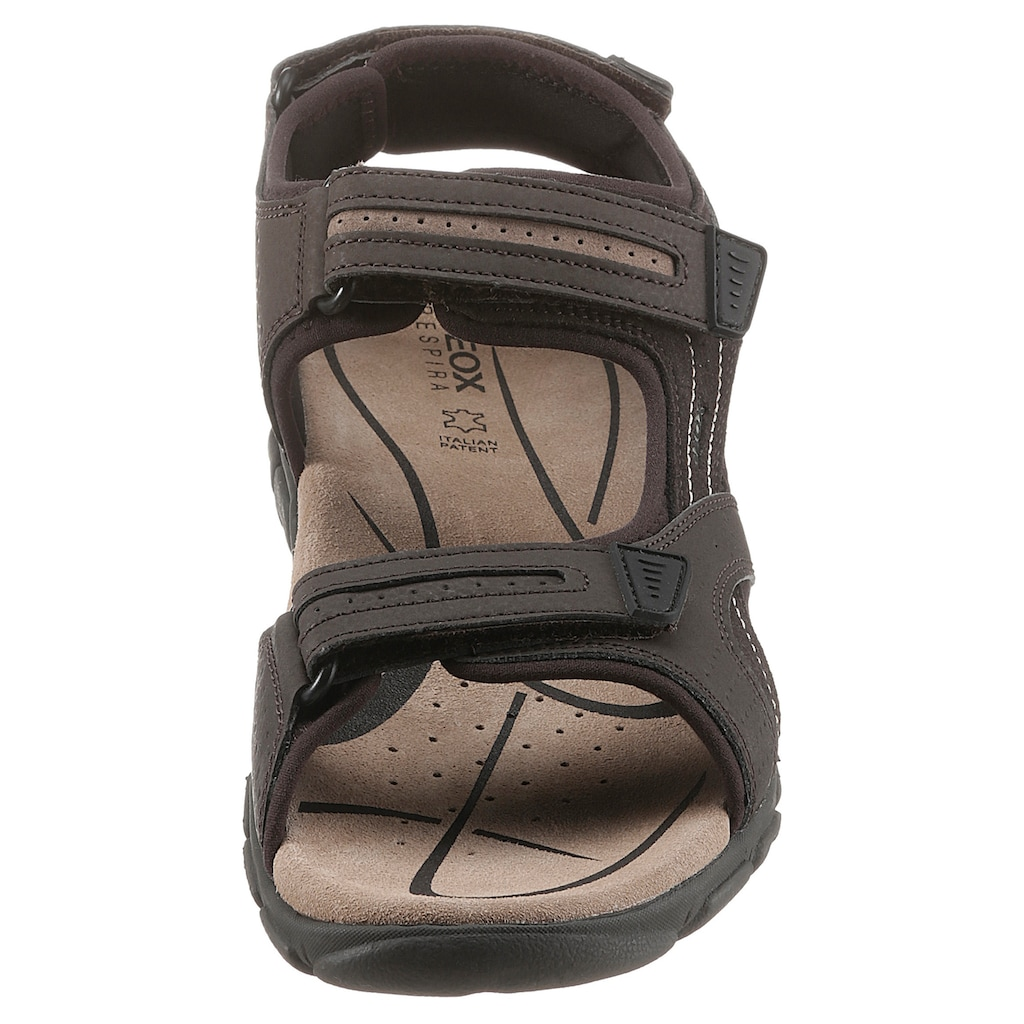 Geox Sandale »UOMO STRADA«, mit patentierter Geox Spezial Membrane