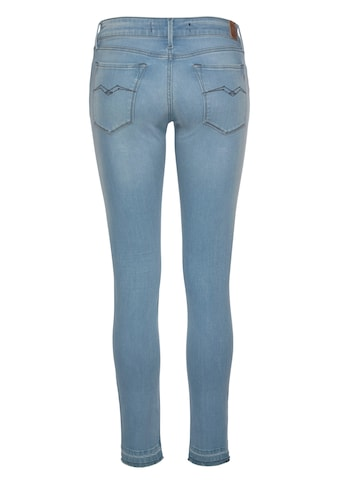 Replay Skinny-fit-Jeans »LUZ«, mit Used-Kante am Saum kaufen