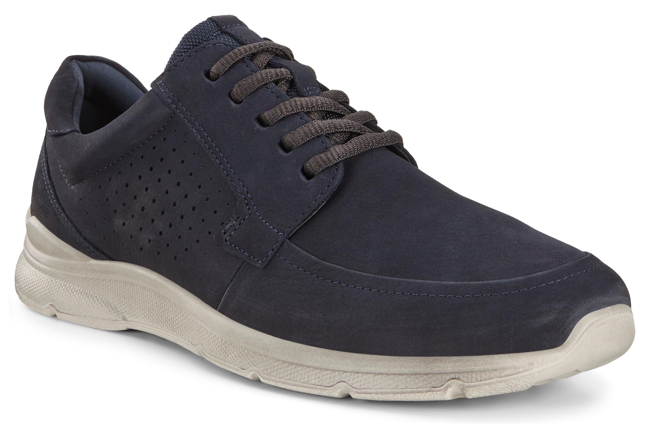 ecco -  Sneaker Irving, mit dezenter Perforation