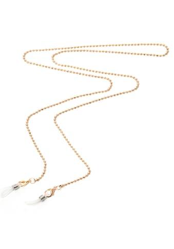 J.Jayz Brillenkette »in Kugelkettengliederung, vergoldet« (1 - tlg.) kaufen