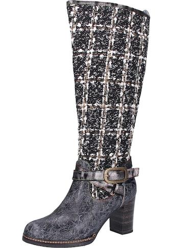 LAURA VITA High - Heel - Stiefel »Leder/Textil« kaufen