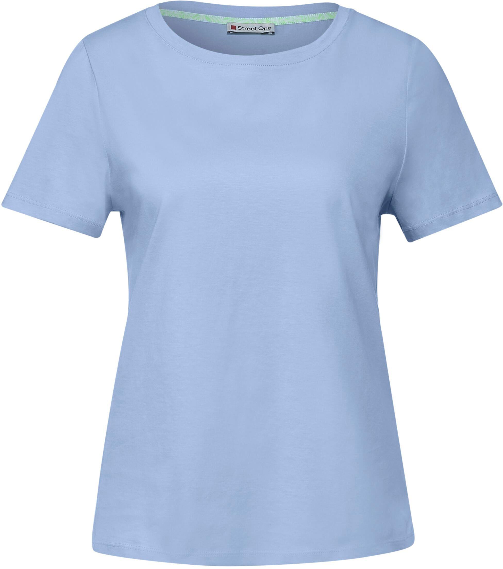 street one -  T-Shirt, im einfarbigen Basic-Look