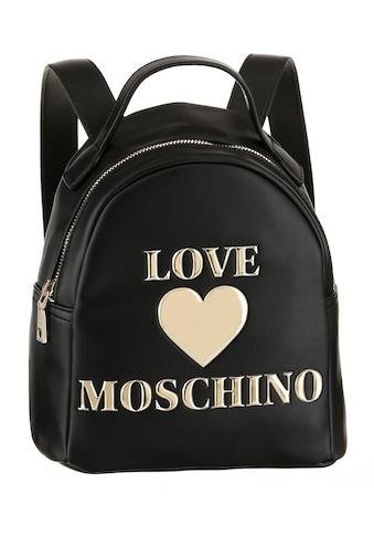 LOVE MOSCHINO Cityrucksack, mit goldfarbenen Details kaufen