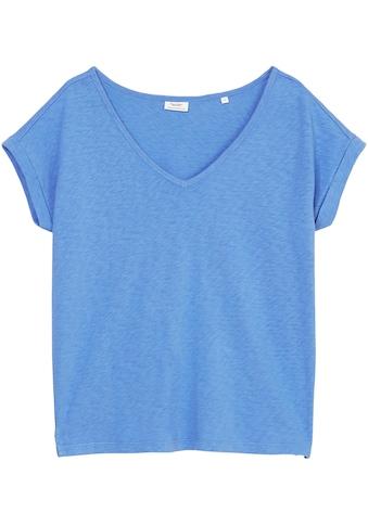 Marc O'Polo DENIM T-Shirt, in weicher Slub-Jersey Qualität kaufen