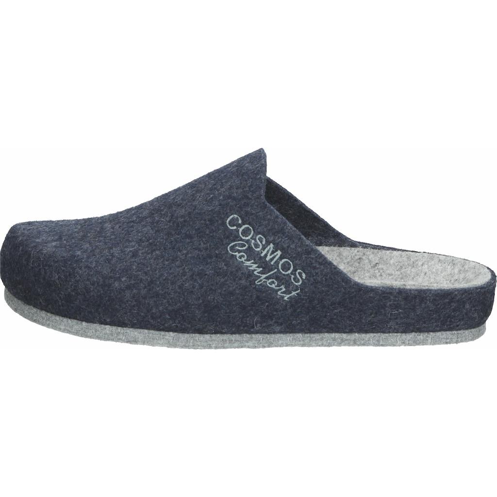 COSMOS Comfort Pantolette »Filz«