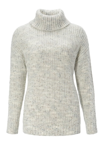 Aniston CASUAL Rollkragenpullover, aus trendigem Melange-Garn - NEUE KOLLEKTION kaufen