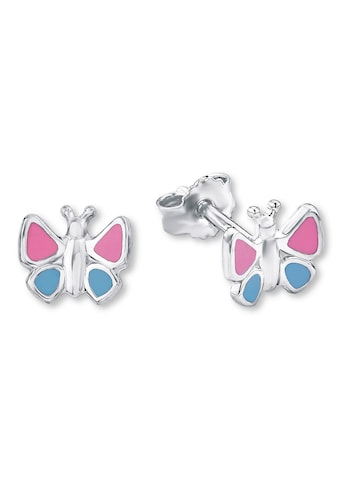 Amor Paar Ohrstecker »Schmetterling, 9211173«, mit Emaille kaufen