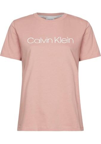 Calvin Klein T-Shirt »CORE LOGO CREW NK TEE«, mit Calvin Klein Logo-Schriftzug kaufen