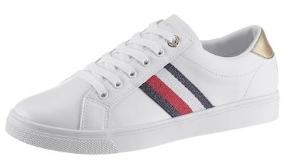 Tommy Hilfiger Sneaker »TH CORPORATE CUPSOLE SNEAKER«, mit seitlichen Streifen kaufen