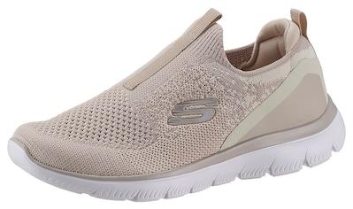 Skechers Slip-On Sneaker »SUMMITS-DAILY FLOURISH«, mit gepolstertem Fersenpart kaufen