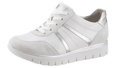 Semler Keilsneaker »SILVIA«, mit Kontrastbesatz in Metallicoptik kaufen