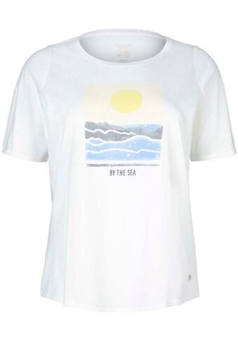 TOM TAILOR MY TRUE ME T-Shirt, mit Front-Print kaufen