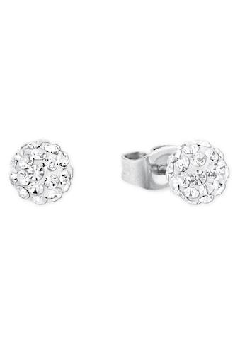 Amor Paar Ohrstecker »9188970«, mit Kristallglassteinen kaufen