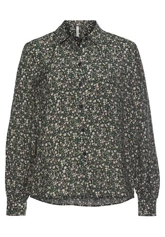 Pepe Jeans Hemdbluse »POPPY«, mit tollem milles fleurs Muster, Kentkragen und... kaufen
