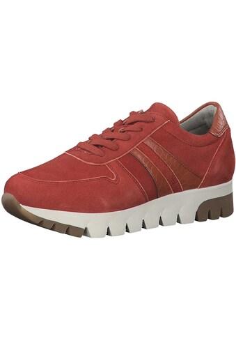 Tamaris Sneaker »Leder/Synthetik« kaufen