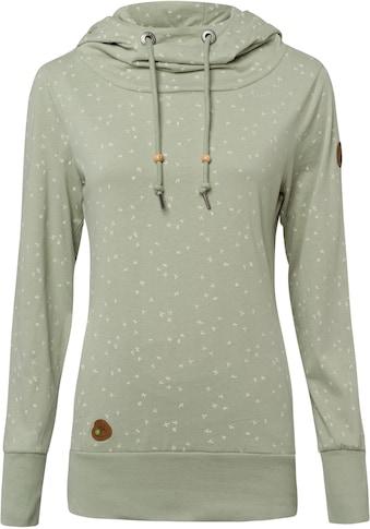 Ragwear Sweatshirt »YODA ORGANIC«, Hoody mit Kordelzug und extra breiten Bündchen kaufen