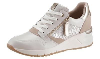 Tamaris Wedgesneaker »Rea«, mit feiner Reptil-Prägung kaufen