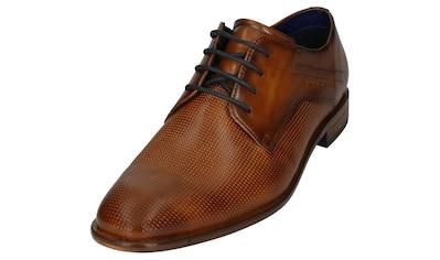 bugatti Schnürschuh »Mansueto«, mit Lederlaufsohle kaufen