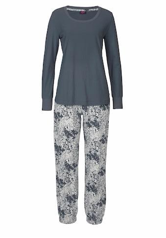 Buffalo Pyjama, mit gemusterter Hose und passendem Langarmshirt kaufen