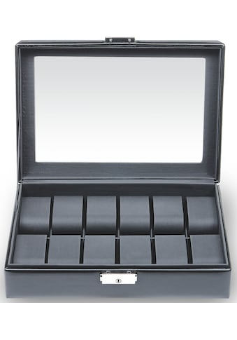 Sacher Uhrenetui »Black Exclusive, 2119.0104N04«, Handmade in Germany kaufen