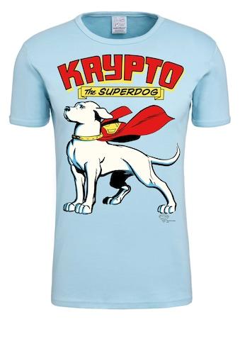 LOGOSHIRT T-Shirt »Krypto the Superdog«, mit lizenziertem Originaldesign kaufen