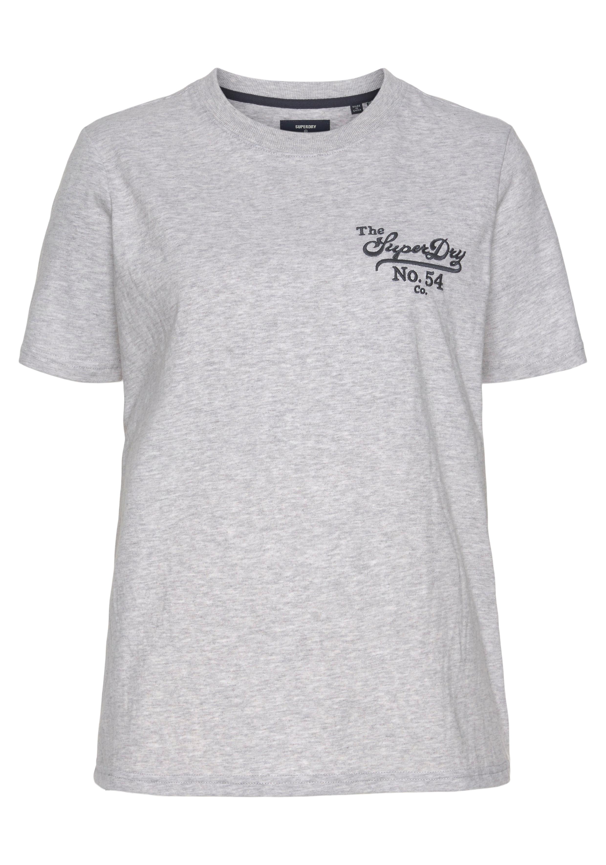 superdry -  T-Shirt, mit großem Logodruck
