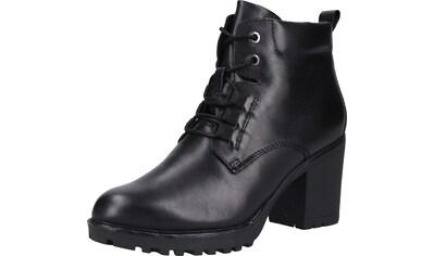 MARCO TOZZI High - Heel - Stiefelette »Nappaleder« kaufen