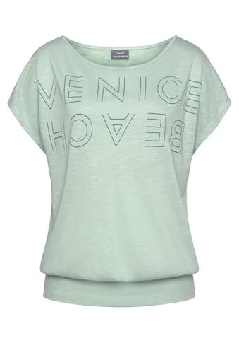 Venice Beach Rundhalsshirt, mit Logoprint kaufen