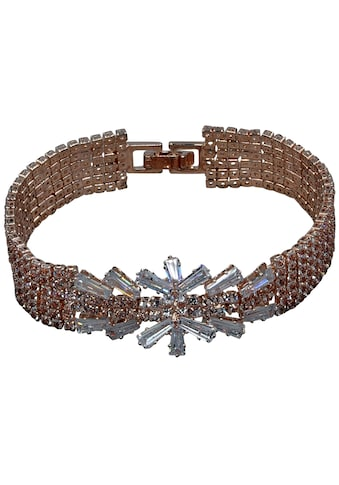 J.Jayz Armband »in Glamour-Optik, mehrreihig«, mit Glassteinen kaufen