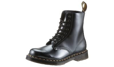 DR. MARTENS Schnürstiefel »1460 Pascal 8 Eye Boot«, im Metallic Look kaufen