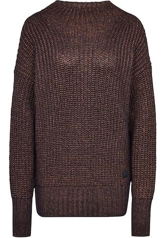 G-Star RAW Strickpullover »Viisi Mock Loose Knit Pullover«, mit angedeuteten... kaufen